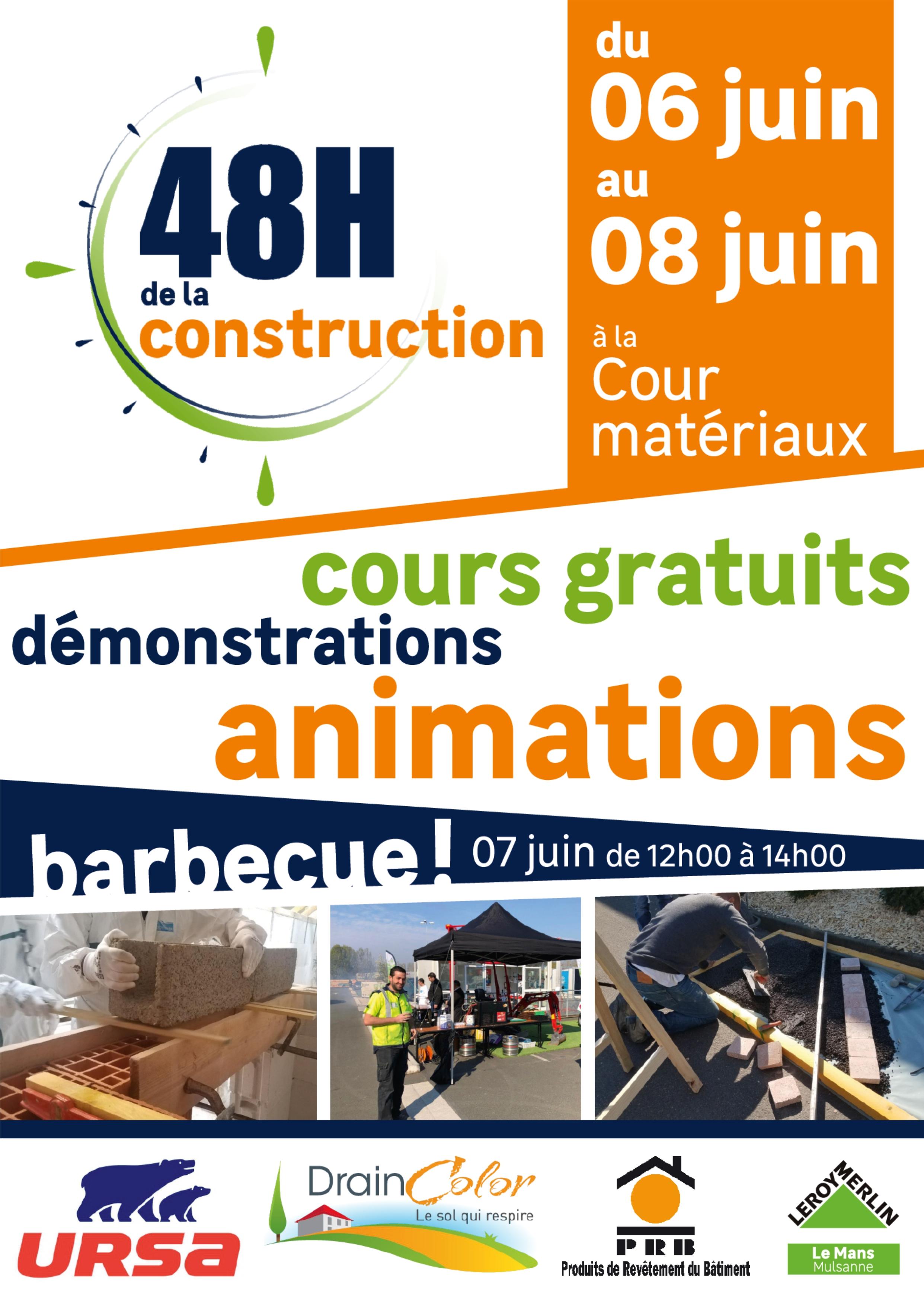 48h De La Construction Leroy Merlin Le Mans Mulsanne Le