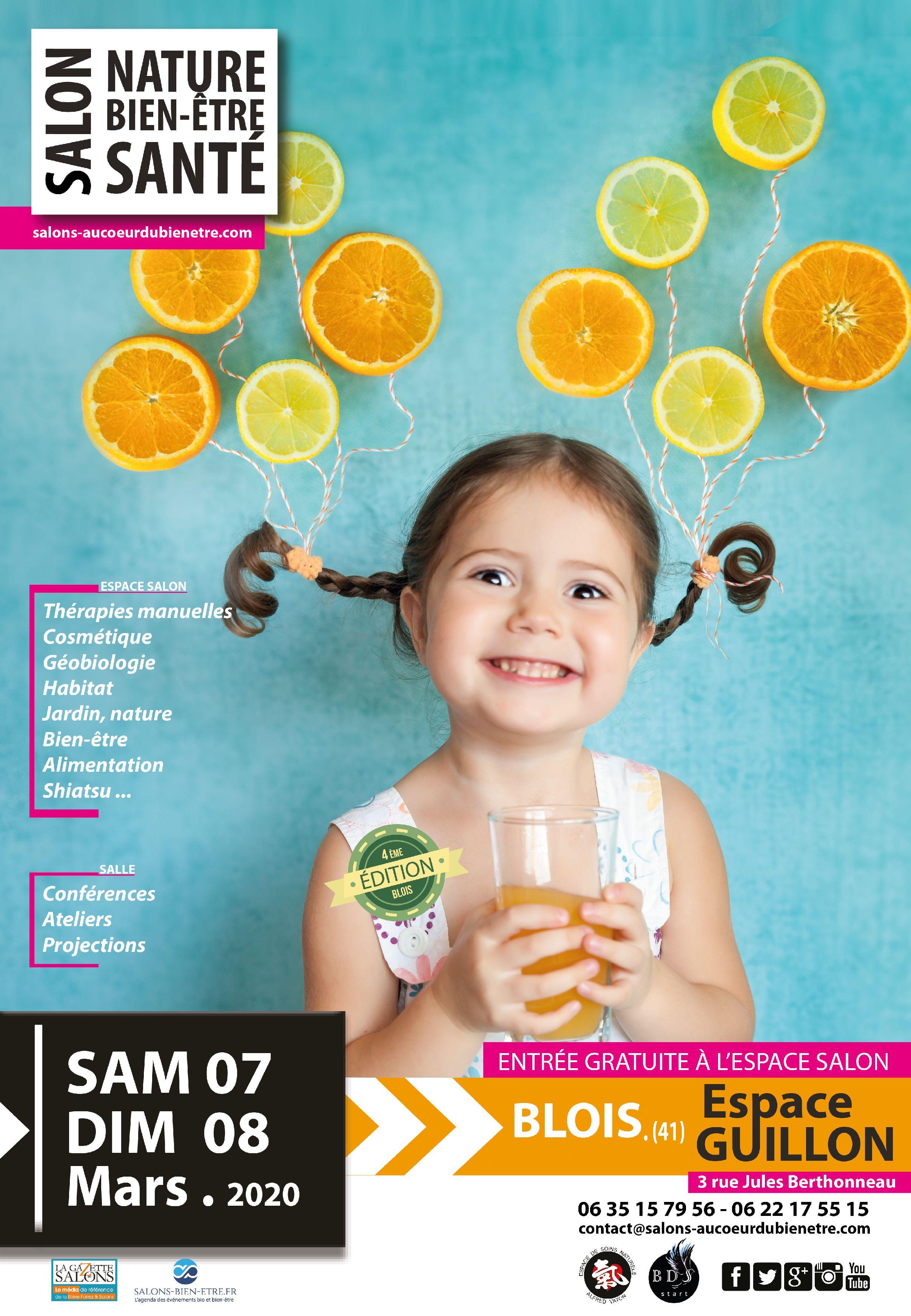 Calendrier Des Salons Bien Etre 2020.Salon Nature Bien Etre Et Sante Blois Blois Le 07 03